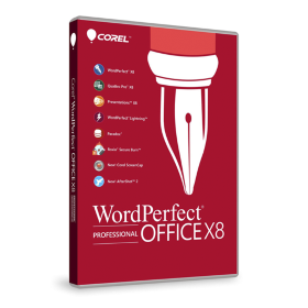 WordPerfect Office X8 Pro Single User Upg Lic ML [LCWPX8PROMLUG1]