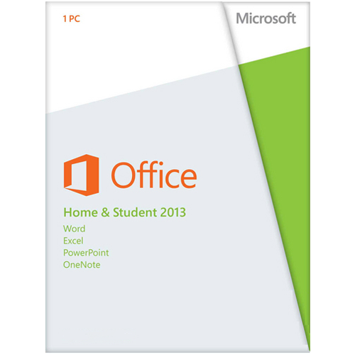 Microsoft Office 2013 Home and Student 32/64-bit Rus ESD / AAA-02889-E