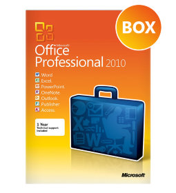 Microsoft Office 2010 Professional BOX 32/64 bit Rus