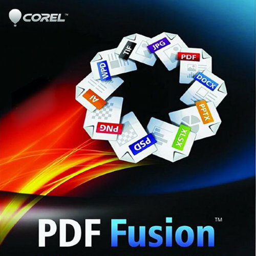 Corel PDF Fusion 1 License ML 11-25 [LCCPDFF1MLB]