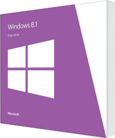 Microsoft Windows 8.1 Full Version BOX 32/64 bit Ru