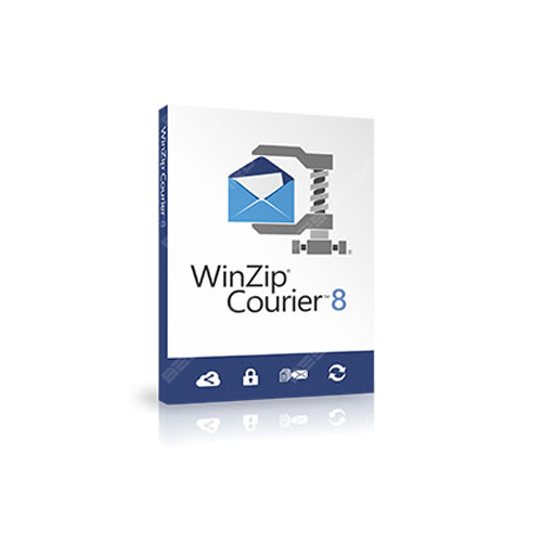 WinZip Courier 8 Upgrade License ML 200-499 [LCWZCO8MLUGF]