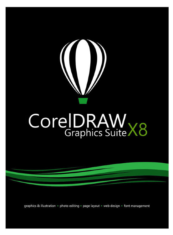 CorelDRAW Graphics Suite X8 / ESDCDGSX8ROEU