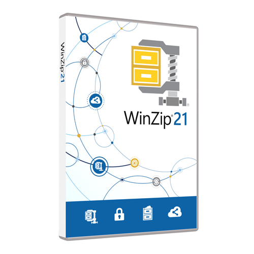 WinZip 21 Standard Upgrade License ML 10-24 [LCWZ21STDMLUGB]