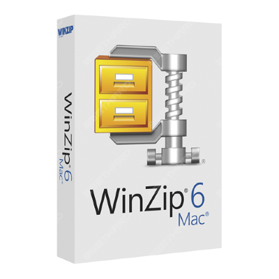 WinZip Mac Edition 6 License EN 10-24 [LCWZMAC6ENB]