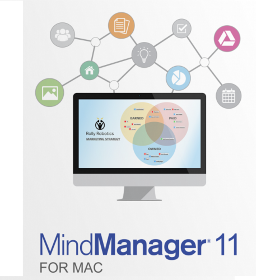 Mindjet MindManager 11 for Mac - Single (Electronic Delivery)