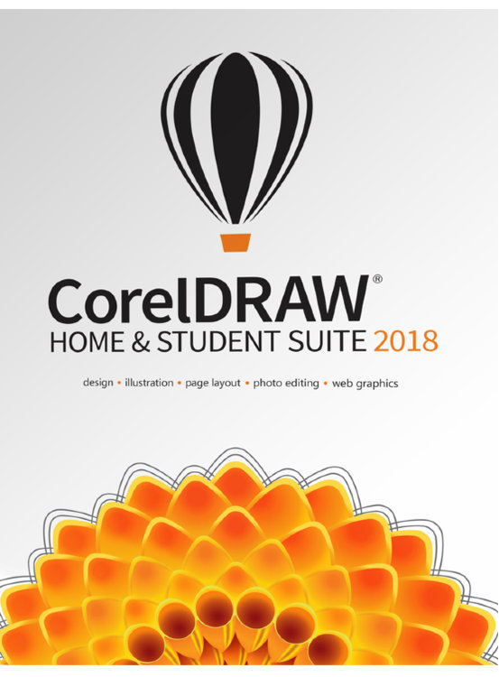 CorelDRAW Home & Student Suite 2018 / ESDCDHS2018ROEU