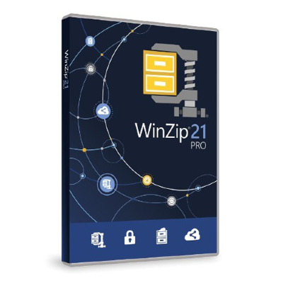 WinZip 21 Pro License ML 100-199 [LCWZ21PROMLE]
