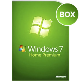 Microsoft Windows 7 Home Premium BOX 32/64 bit Rus