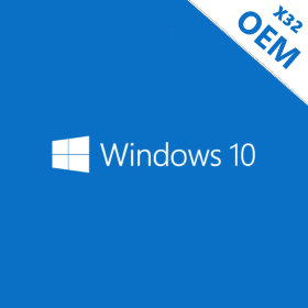 Microsoft Windows 10 Home OEM 32 bit