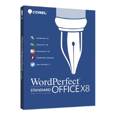 WordPerfect Office X8 Education License 1-60 [LCWPX8MPCAA]