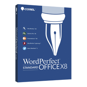WordPerfect Office X8 Education License 61-300 [LCWPX8MPCAB]